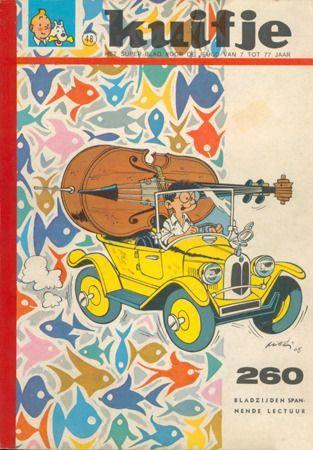 Kuifje - Weekblad - Album (Kleine bundeling - Softcover) B48 Nummer 48