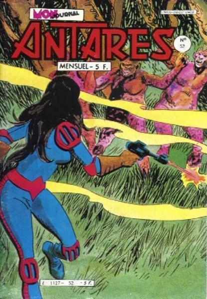 Antarès (Mon Journal) 52 Le monstre de l'île inaccessible
