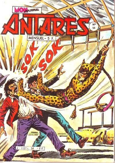 Antarès (Mon Journal) 54 La menace du vampire