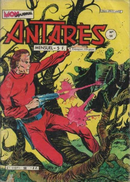 Antarès (Mon Journal) 58 L'assassin des mers