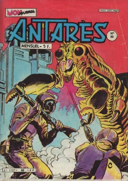 Antarès (Mon Journal) 60 Le squelette de lumière...