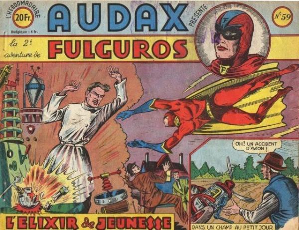 Audax (Artima) 59 Fulguros: L'élixir de jeunesse