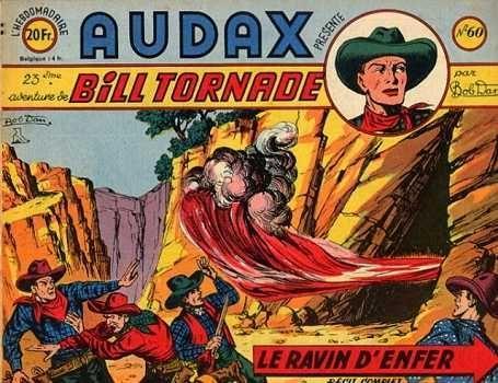 Audax (Artima) 60 Bill Tornade: Le ravin d'enfer