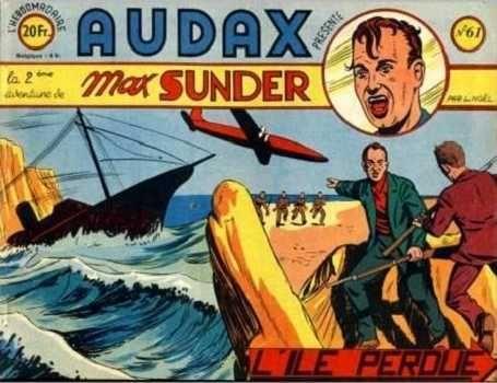 Audax (Artima) 61 Max Sunder: L'île perdue
