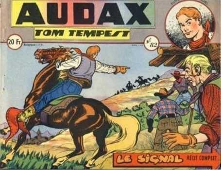 Audax (Artima) 82 Tom Tempest: Le signal