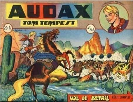 Audax (Artima) 84 Tom Tempest: Vol de bétail