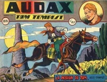Audax (Artima) 85 Tom Tempest: La mission de Tom