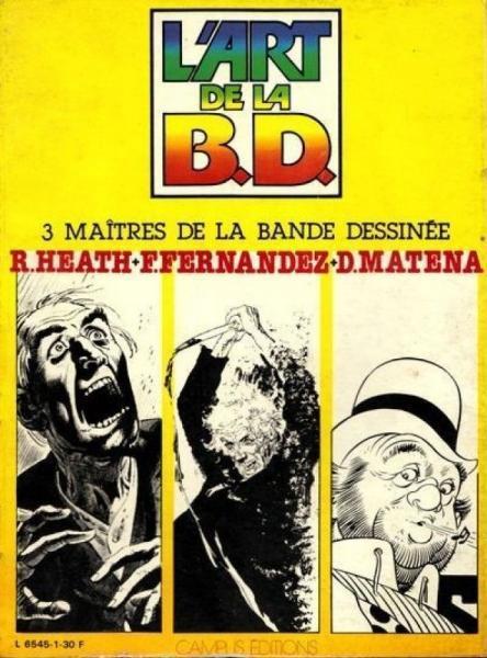 L' art de la B.D. INT 1 3 maîtres de la bande dessinée