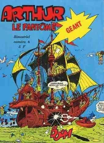 Arthur le fantôme (Cézard) Géant 4 En route pour l'Ecosse