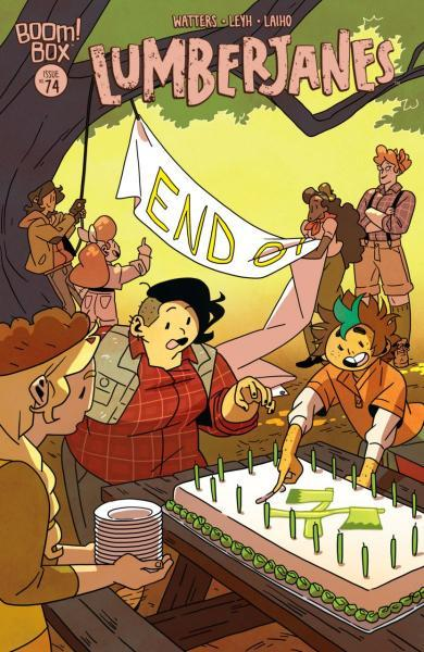 Lumberjanes 74 Daylight Savor, Part 2