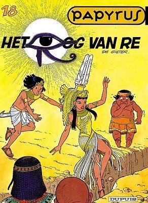 Papyrus 18 Het oog van Re