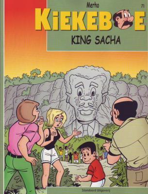 De Kiekeboes 71 King Sacha