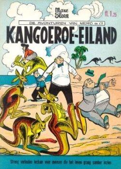 De klassieke avonturen van Nero C-NL12 Kangoeroe-eiland