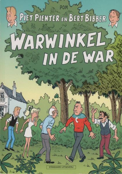 Piet Pienter en Bert Bibber 30 Warwinkel in de war