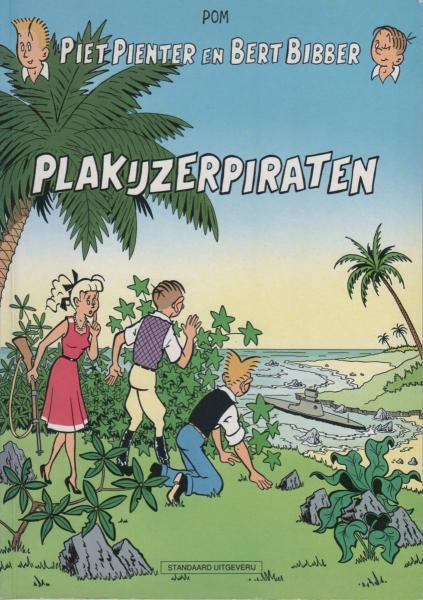Piet Pienter en Bert Bibber 4 Plakijzerpiraten