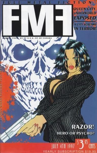 Full Metal Fiction 4 Issue #4