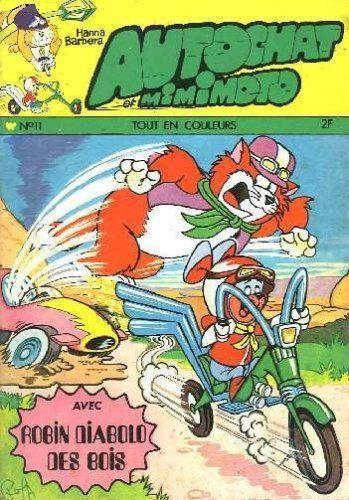 Autochat et Mimimoto 11 Robot au galop!