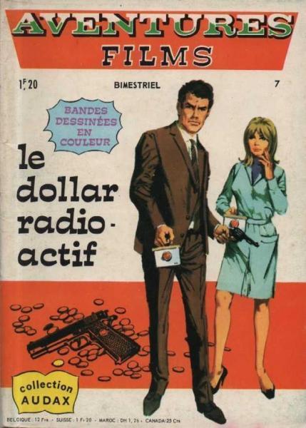 Aventures Films (Arédit - Audax collectie) 7 Le dollar radioactif