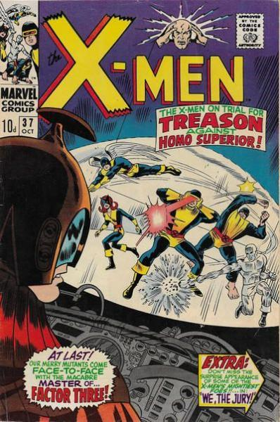 The Uncanny X-Men 37 We, the Jury