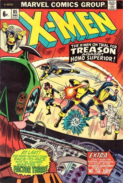 The Uncanny X-Men 85 We, the Jury