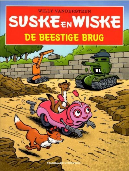 Suske en Wiske in het kort 21 De beestige brug