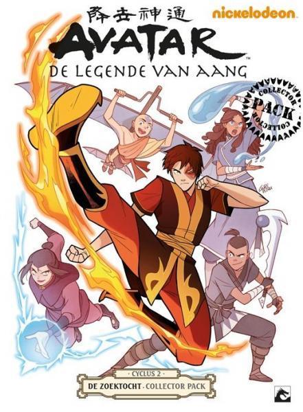 Avatar: De legende van Aang INT 2 De zoektocht
