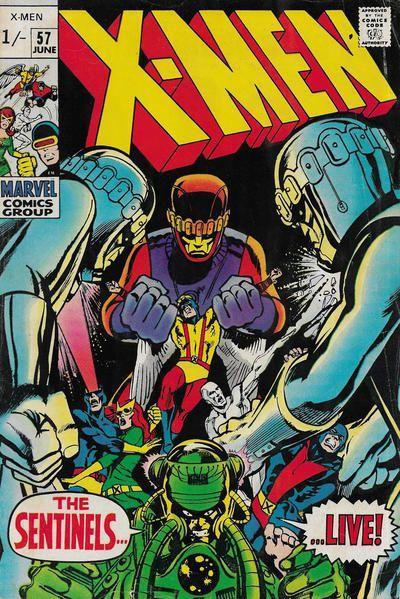 The Uncanny X-Men 57 The Sentinels Live!