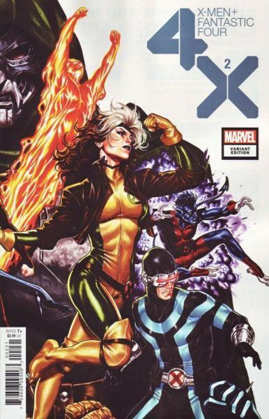 X-Men/Fantastic Four: 4X 2 Broken Borders