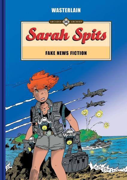Sarah Spits 21 Fake news fiction