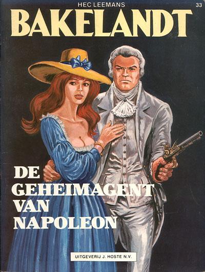 Bakelandt 33 De geheimagent van Napoleon