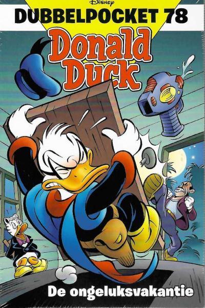 Donald Duck dubbel pocket 78 De ongeluksvakantie