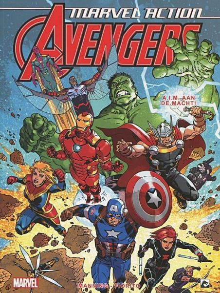 Marvel Action Avengers (Dark Dragon) 4 A.I.M. aan de macht!