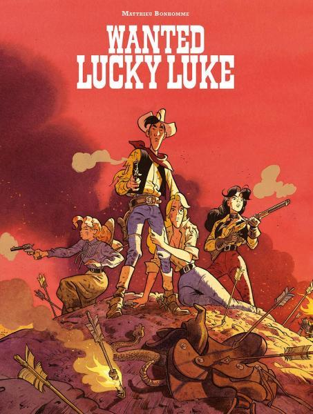 Lucky Luke door... 4 Wanted Lucky Luke