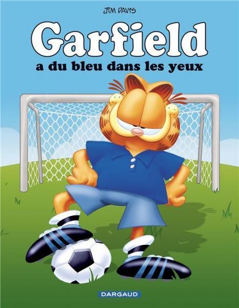 Garfield (Dargaud) 71 Garfield a du bleu dans les yeux!