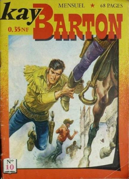 Kay Barton 10 La vengeance de Manitou