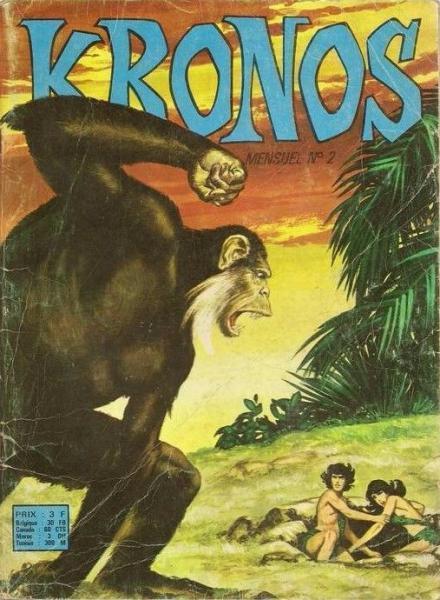 Kronos (Sagédition) 2 Prisonnier des hommes-caïmans