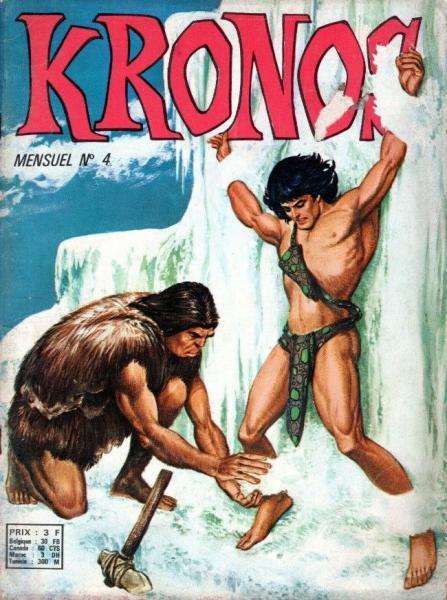 Kronos (Sagédition) 4 L'idole de glace