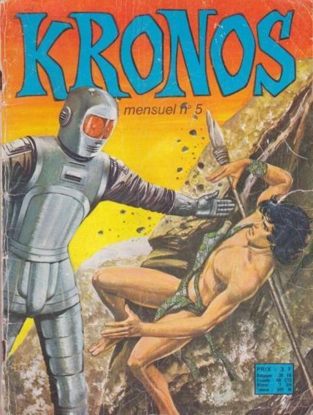 Kronos (Sagédition) 5 Le géant sans visage