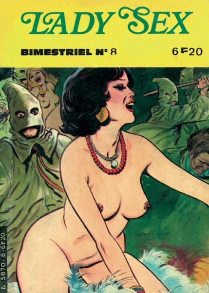 Lady Sex 8 Emilia et les fantômes