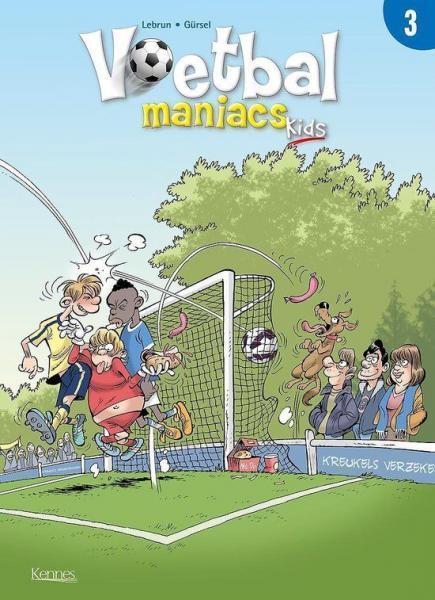 Voetbal maniacs kids 3 Deel 3
