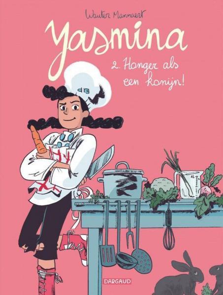 Yasmina (Mannaert) A2 Honger als een konijn!