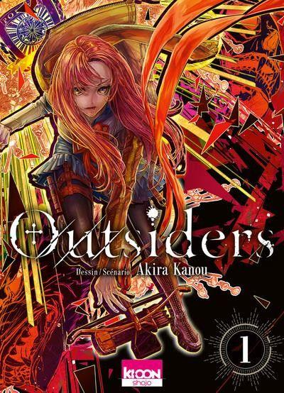 Outsiders (Kanou) 1 Tome 1