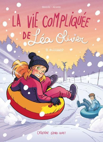 Het lastige leven van Léa Olivier 9 Blizzard