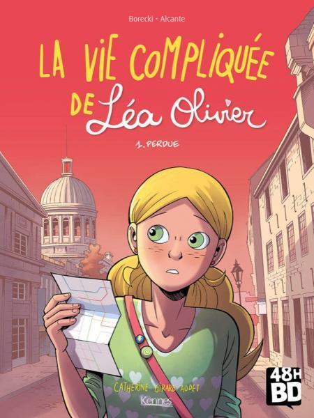 Het lastige leven van Léa Olivier 1 Perdue