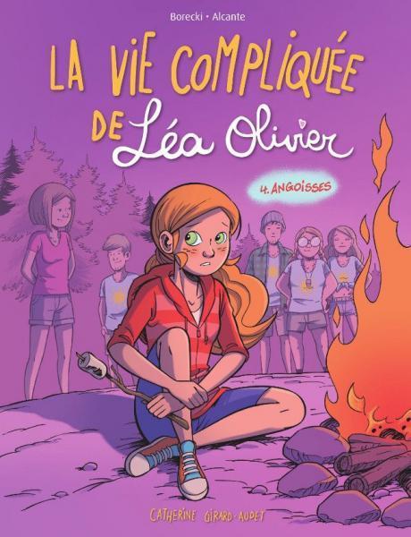 Het lastige leven van Léa Olivier 4 Angoisses