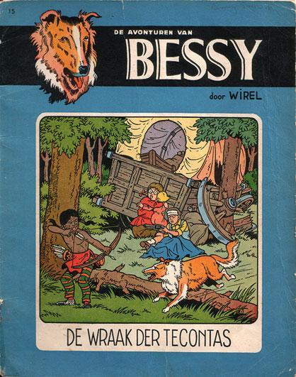 Bessy 15 De wraak der Tecontas