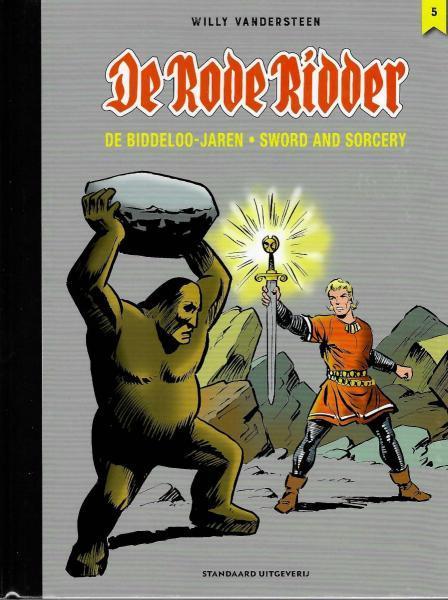 De Rode Ridder: De Biddeloo jaren - Sword and sorcery 5 Deel 5