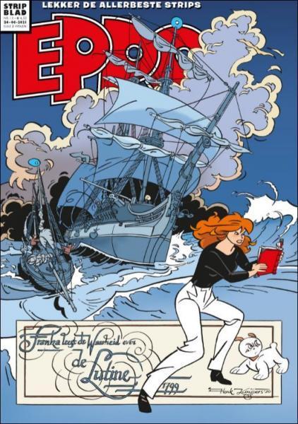 Eppo - Stripblad 2021 (Jaargang 13) 13 Nummer 13