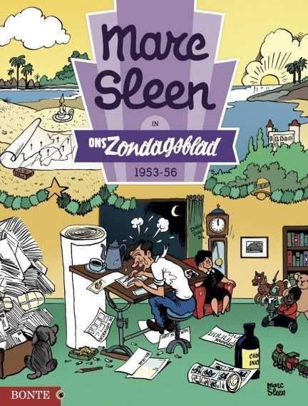 Marc Sleen in Ons Zondagsblad 2 1953-56