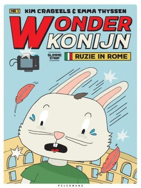 Wonderkonijn 1 Ruzie in Rome